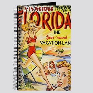 Vintage Florida Vacation Land Journal