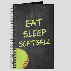 Eat, Sleep, Softball Journal