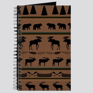 Deep Tan Cabin Blanket Journal