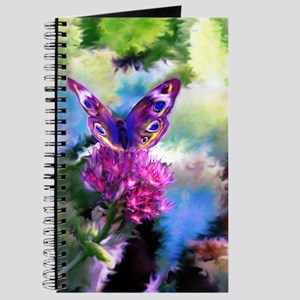 Colorful Abstract Butterfly Journal
