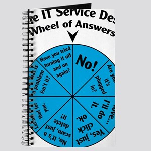 IT Wheel of Answers Journal