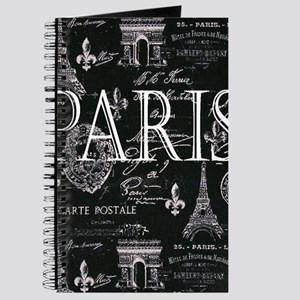 Paris Black and White Journal