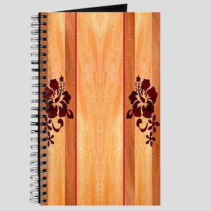 Faux Wood Surfboard Journal
