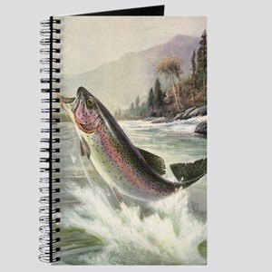Vintage Fishing, Rainbow Trout Journal