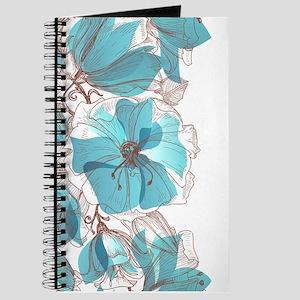 Pretty Floral Journal