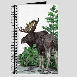 Bull moose art Journal