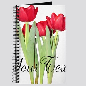 Personalizable Tulips Journal