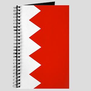 Square Bahrain Flag Journal