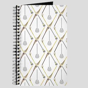 Five Lacrosse Sticks Journal