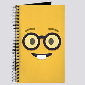 Nerdy Emoji Face Journal
