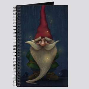 Old Christmas Gnome Journal