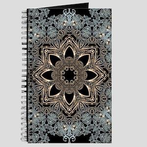bohemian floral mandala hipster Journal