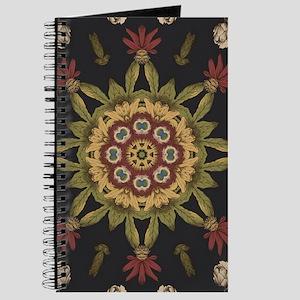 hipster vintage floral mandala Journal