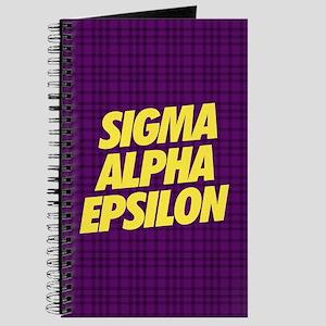 Sigma Alpha Epsilon Slant Journal