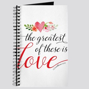 Greatest Love Journal