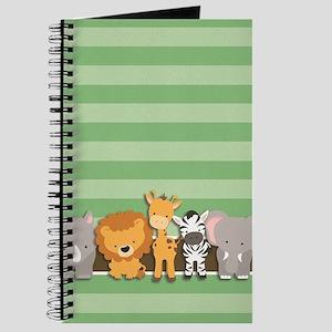 Safari Animals Journal