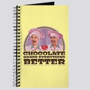 I Love Lucy: Chocolate Makes Everything Be Journal