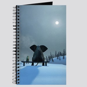 Dog and Elephant Friends Journal