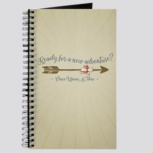 OUAT Ready For A New Adventure Journal