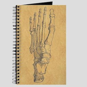 Vintage Foot Bones Journal