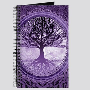 Tree of Life in Purple Journal