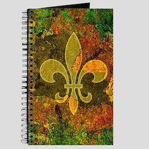 Louisiana Rustic Fleur de lis Journal
