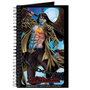 Dark Hunter Tarot Journal Acheron Kenyon Merchandise