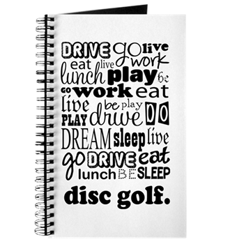 Disc Golf Gift Journal > Disc Golf Funny Life Quote Gift T ...