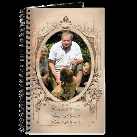 Personalizable Edwardian Photo Frame Journal