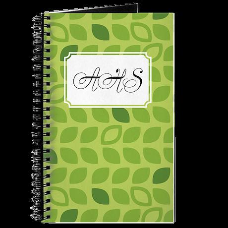 Dot Pattern Green2 Journal