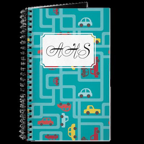 Grocers Teal Journal