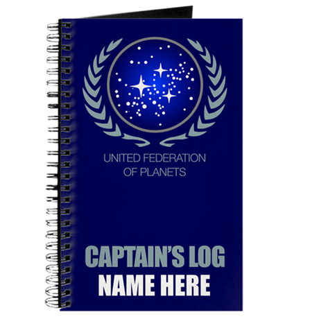 United Federation of Planets Captain's Log Journal