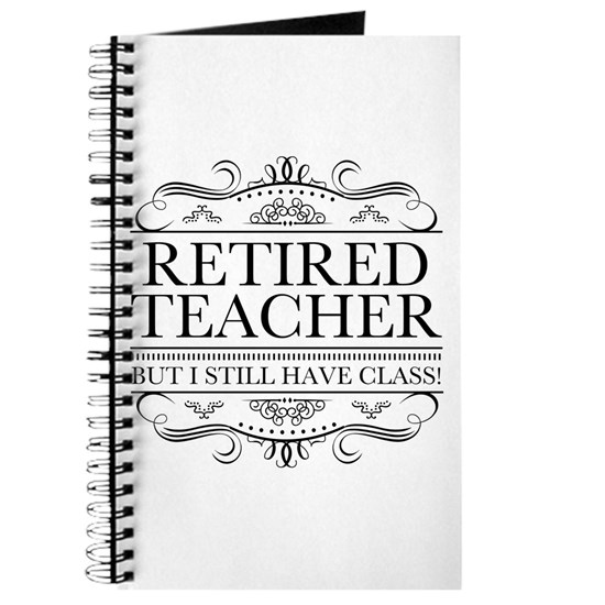 Funny Retired Teacher