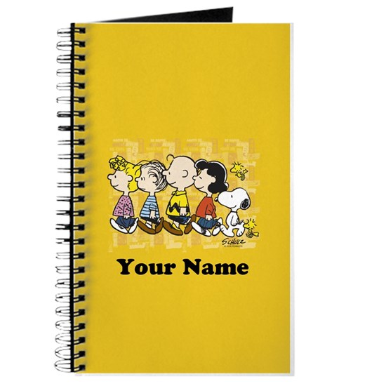 Peanuts Walking Personalized Phone Case