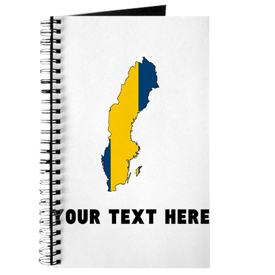 Swedish Flag Silhouette (Custom)
