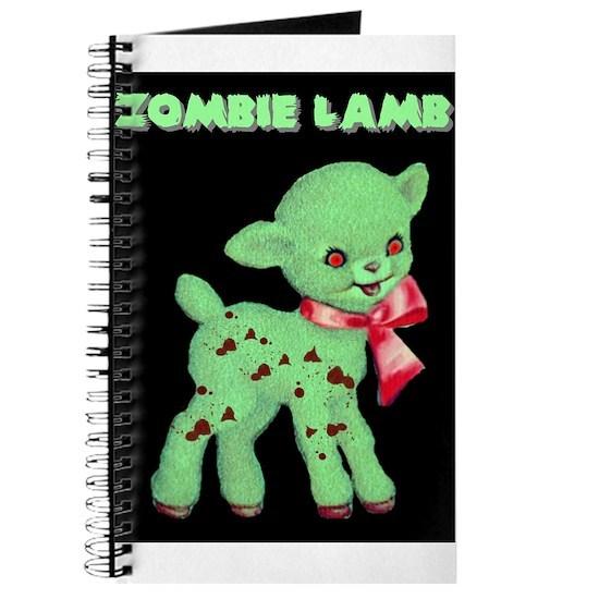 Zombie Lamb Kawaii Horror Journal