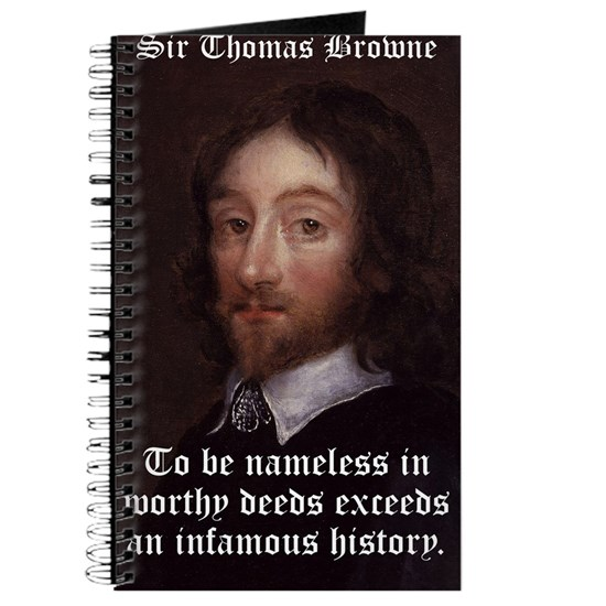 To Be Nameless - Thomas Browne
