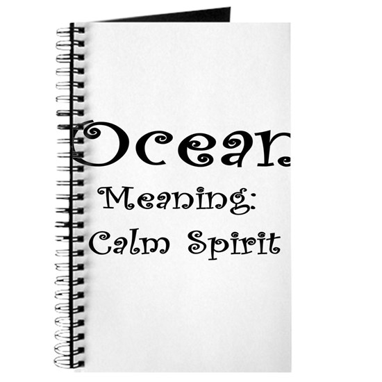 Ocean Name Meaning Journal