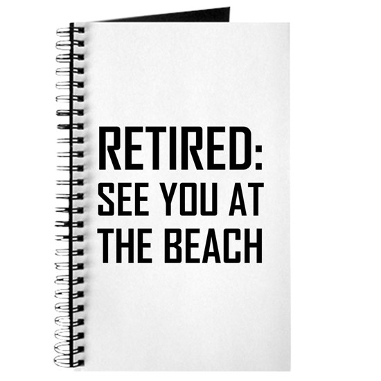 Retired See You At Beach