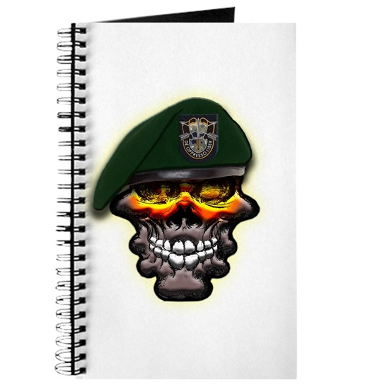US Army Special Forces Skull Journal