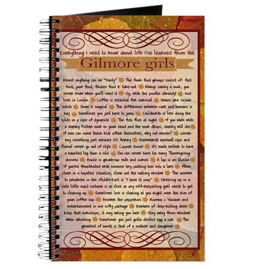 Gilmore Life Lessons journal