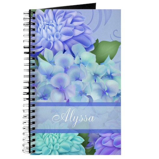 Purple Hydrangea Personalized