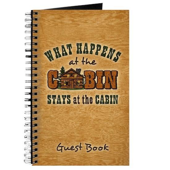 Happens At The Cabin Jrnl