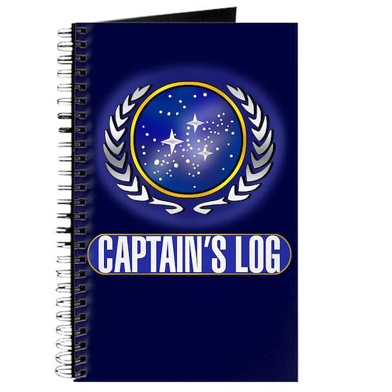 Federation Captains Log (dark)