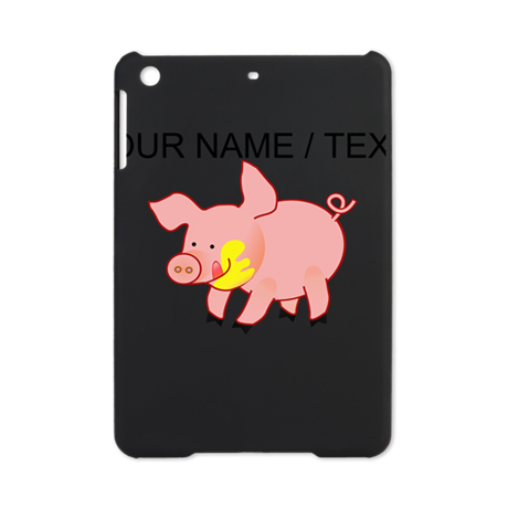 Custom Cartoon Pig iPad Mini Case