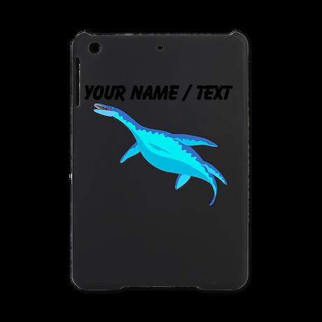 Custom Blue Plesiosaur iPad Mini Case