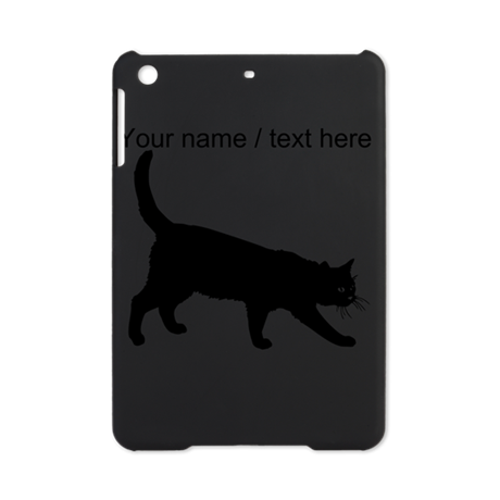 Custom Black Cat Sketch iPad Mini Case