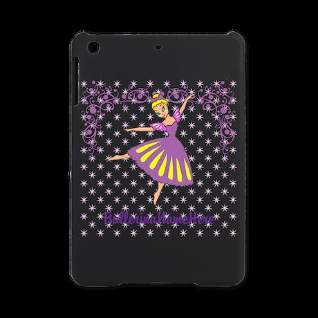 Personalize Your Purple Ballerina! iPad Mini Case