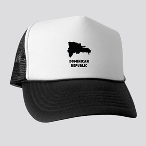 Dominican Republic Silhouette Trucker Hat