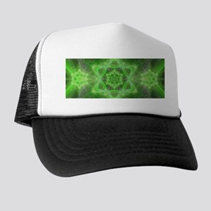Emerald Star Mandala Trucker Hat